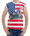 American Biker All Over Shirt