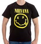 Nirvana Smiley T-Shirt 1