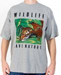 WILDLIFE Tiger T-Shirt grau