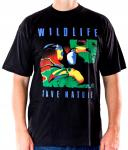 WILDLIFE Turkan Shirt schwarz