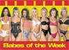 Babes of the Week Poster